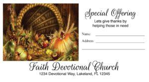church business card design
