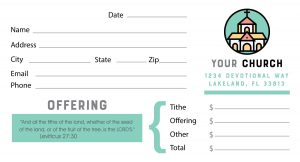 An Offering Envelope