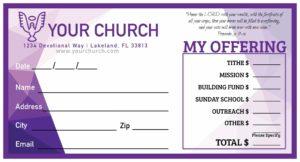 A Purple Hue Envelope