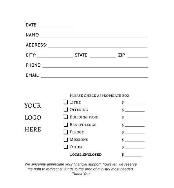 offering envelope design