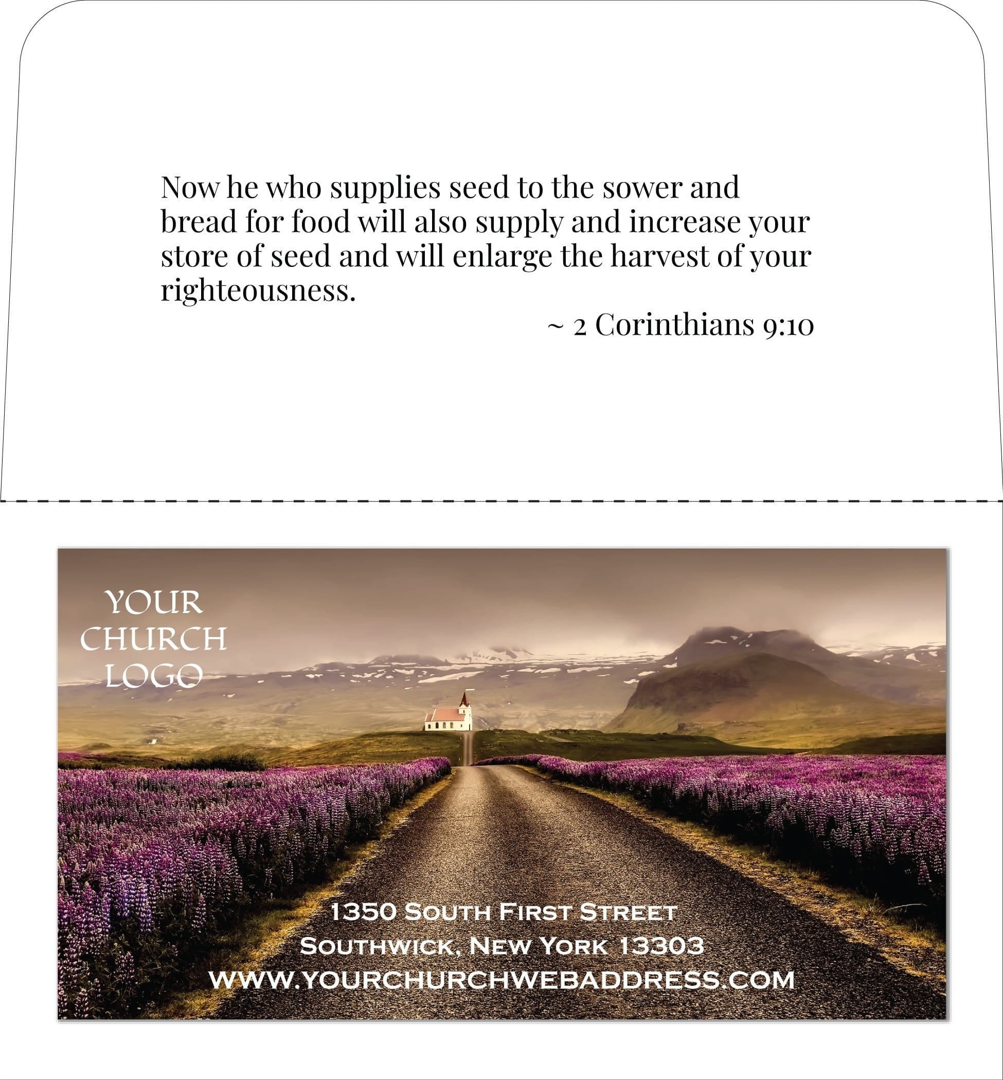 church business card ideas