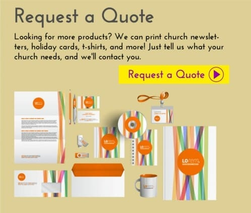 church business card ideas